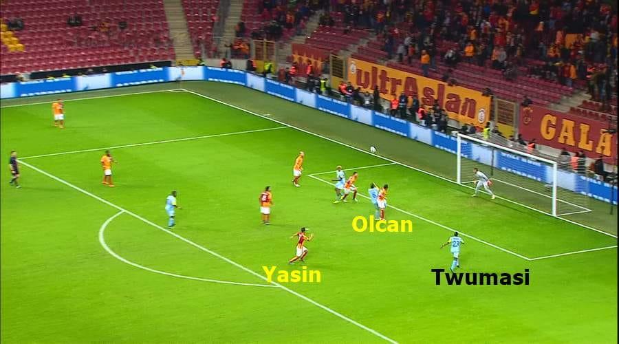 Yasin ancak uyanıyor Twumasi Bomboş GSaray-Astana 1-1ŞL