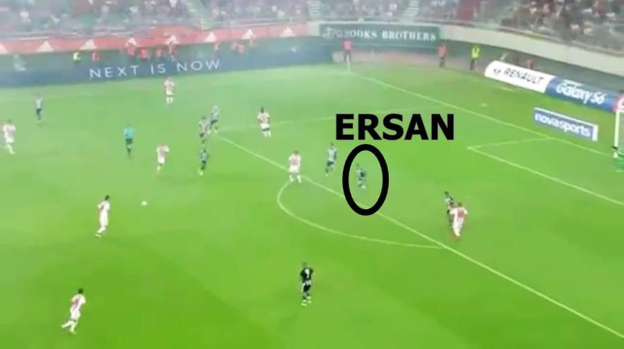 Ersan SHOW BJK - OLYMPIAKOS 20150809-1