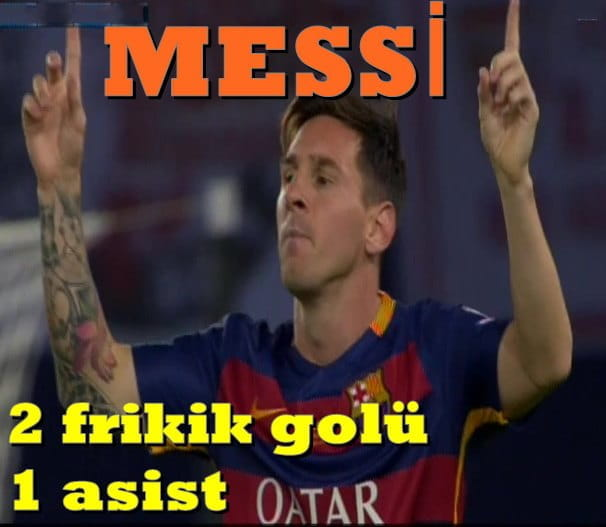 Messi daha ne yapsın BAR - SEV 5-5 UEFA SUPER CUP FIN 20150811-04