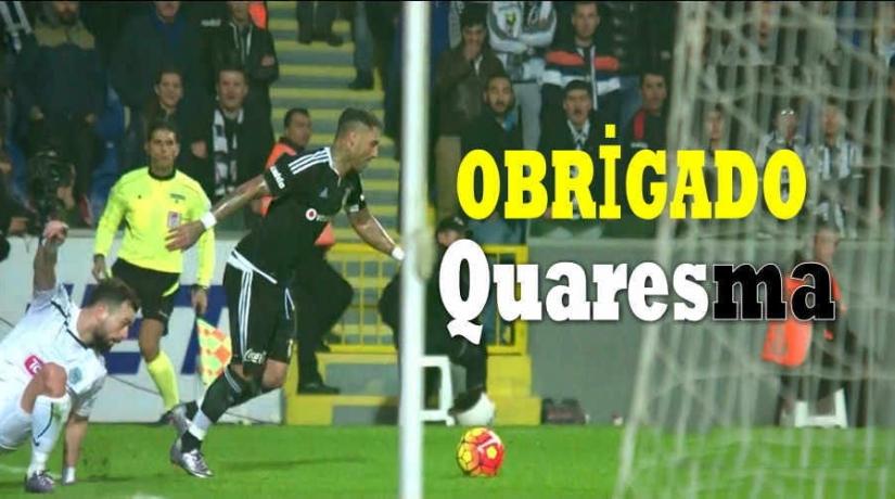OBRİGADO Quaresma