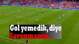 Gol yemedik diye Savunmamız ÇEK - TR 0-2 D3 EURO2016-0621