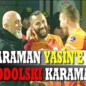 Karaman Yasini, Podolski de Karaman'ı