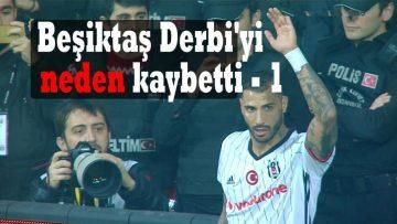 Beşiktaş derbi'yi neden kaybetti-1 BJK - FB 0-1 KUPA 20170204
